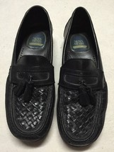 Nunn Bush Black Leather Loafers With Tassels, Size 10M - $38.27 CAD