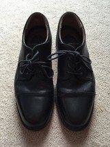 Mens Dockers Black Leather Upper Oxford Shoes, Size 13M - $27.50