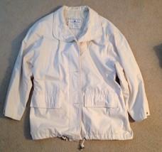Womens London Fog Towne White Vintage Size XS Reg - $22.50