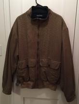 Nautica Mens Size XL/TG Reversible Jacket, Brown/Black Plaid/Checkered, ... - $27.00