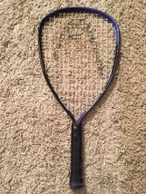 Head Demon XL Racquet Ball Racquet, Blue/Black, Size 3 5/8 - $26.50