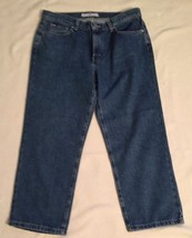 Womens Jeans Tommy Hilfiger Blue Denim Capri Length, Size 8 - $27.50