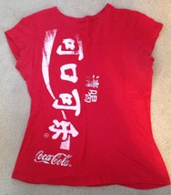 Womens Coca Cola Red T-Shirt, Size L - $20.00
