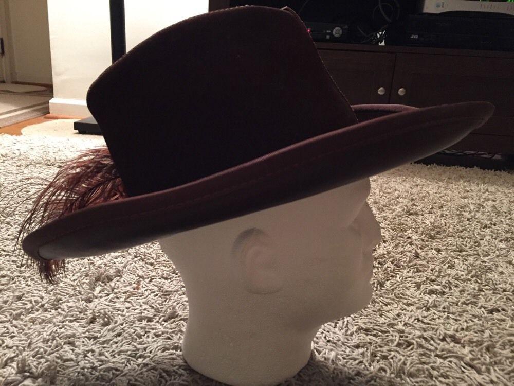 Vintage Men s Henschel Skully s Leather Hat and 28 similar items 13af662a6aad