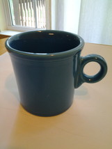 Fiestaware Turquoise Coffee Mug Cup ring handle Fiesta Homer Laughlin  - $4.99