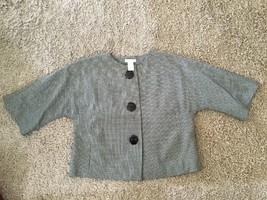 Worthington Women's Stretch Polyester/Blend Checkered Jacket Blazer, Siz... - $24.99