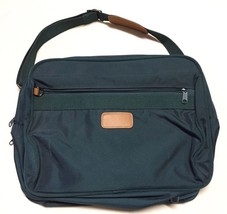 American Tourister Overnight Carry-On Duffle Bag, Green W/ Leather Trim - $27.50