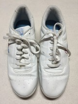 Women's Dexter Support System Non-marking White Bowling Shoes, Size 8.5 - $24.99