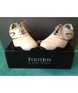Foot Joy Lopro Womens Golf Shoes White/Black In Box, Used 97094, 9.5M - $47.50