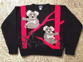 Women's Woolrich 100% Wool Koala Bear Sweater, Size Large - $39.99