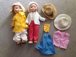 Lot Of 2 1970 Fisher Price My Friend Mandy Doll W/clothes - $75.00