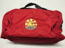 Coca Cola All-Out Summer Red Duffle Gym Bag W/ Shoulder Strap - $25.00
