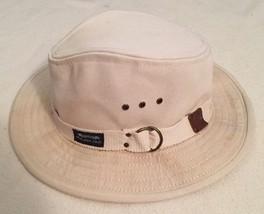 Vintage Used Key Largo Beach Bum Vented Cream Hat Panama Jack Original C... - $85.00