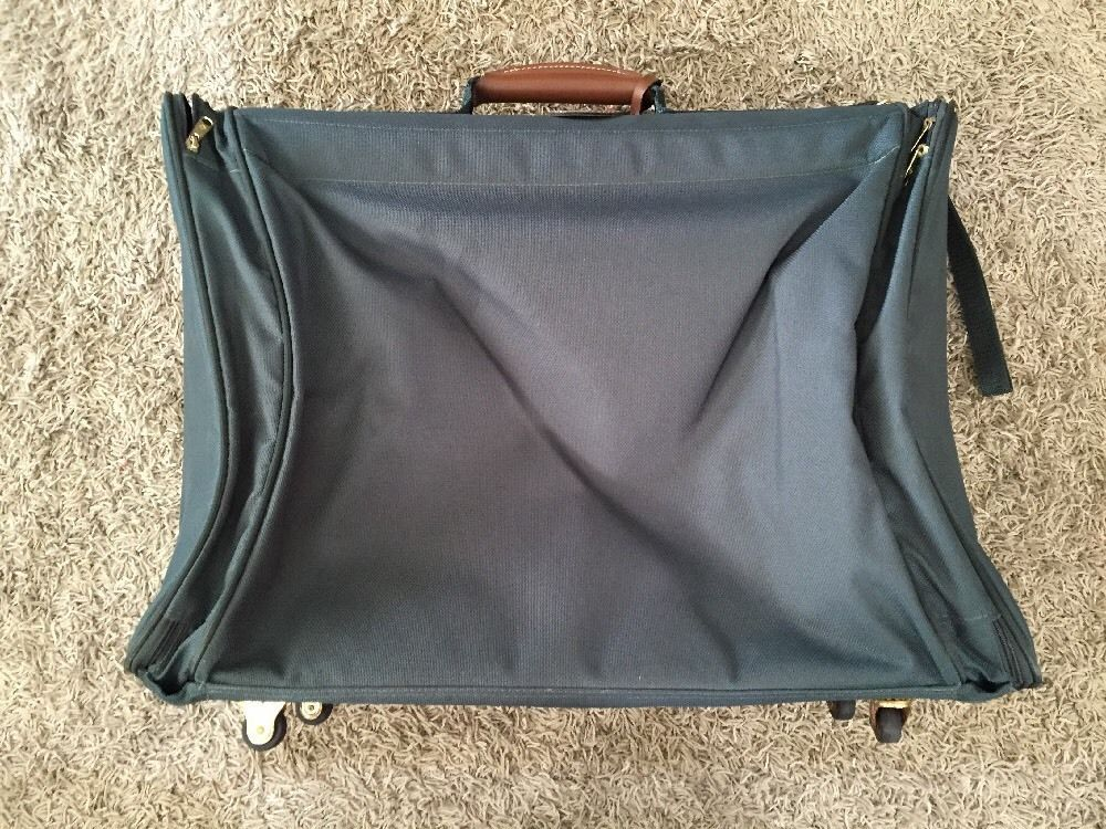 Samsonite Ultralite Green Suitcase/Luggage On Wheels W/ Strap