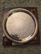 "NIB Fine Silverplate 12"" Serving Tray, By Sheridan Taunton Silversmith LTD - $44.99"