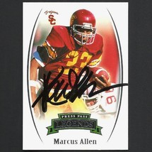 Marcus Allen Autograph Signed 2007 Press Pass Card #98 Nice! - $34.99