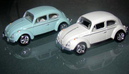 Primary image for Johnny Lightning - (2) 1966 Volkswagen Beetles