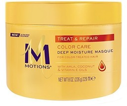 Motions Treat and Repair Deep Moisture Masque, Color Care 8 oz - $19.32