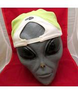Rare Yellow Green ADIDAS ClimaCool Elastic Band Cap Hat L/XL Tennis Polo... - $12.19