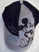 Mickey Mouse  Disney Cap/Hat-Signed: Mickey Mouse-Adult One Size-Like New - $11.26 CAD