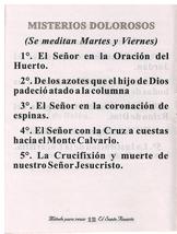 Metodo Para Rezar El Santo Rosario - L20.0073 image 3