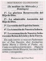 Metodo Para Rezar El Santo Rosario - L20.0073 image 4