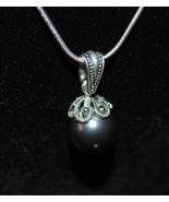 Black Pearl Pendant - $35.00