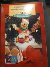 Disney Hallmark Winnie The Pooh Stocking Hanger Holder Christmas Holiday... - $24.70