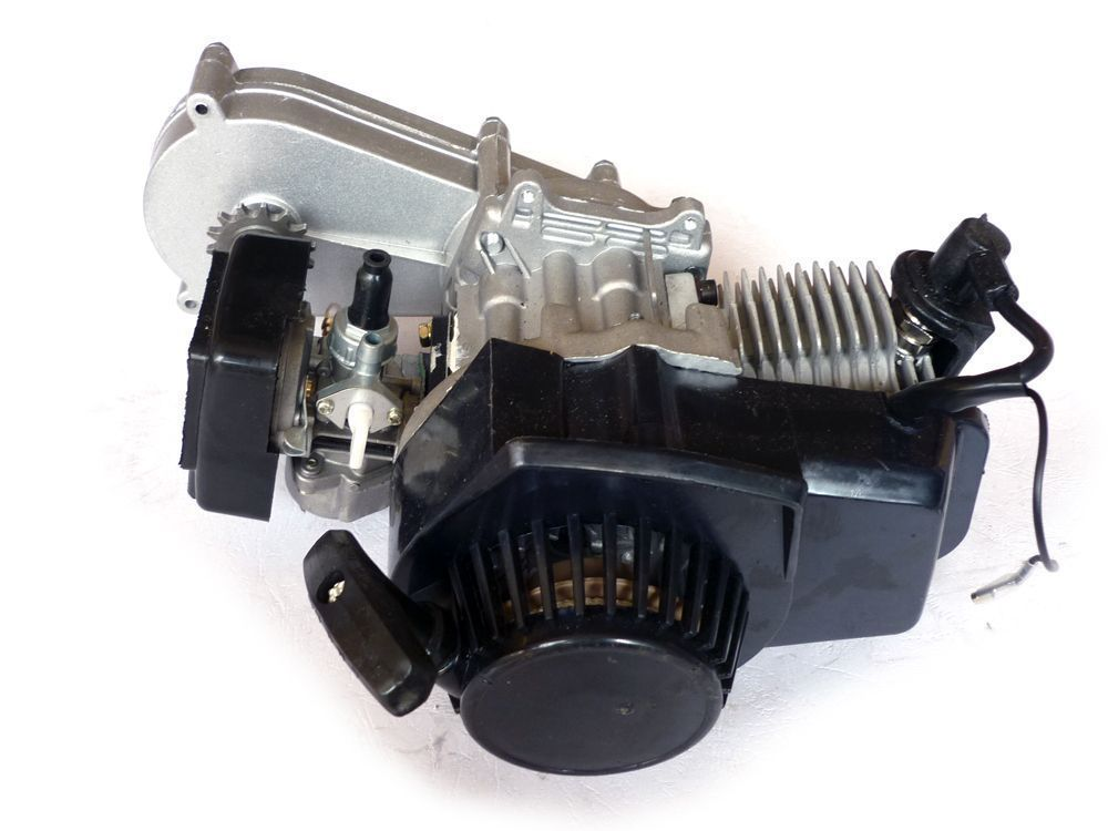 mini pocket dirt pit bike 49cc engine motor w transmission