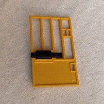 REPLACEMENT Playmobil 4461 Zoo Feeding Station Yellow Cage Door Sliding ... - $9.75