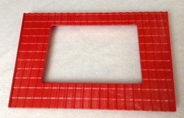 REPLACEMENT Playmobil #4490 Large Animal Farm LEFT RED ROOF Piece Part R... - $9.75