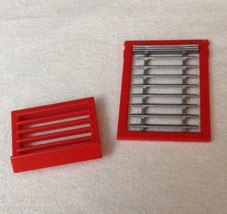 REPLACEMENT Playmobil #5981 City Action Firehouse WINDOW & HEAT VENT Pie... - $9.75