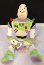 "Disney Toy Story Buzz Lightyear Embroidered LG 21"" Plush Stuffed Space M... - $17.77"