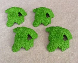 Playmobil System X (LOT OF 4) Tree Leaves Tree Tops Bright Green Pieces ... - $9.75