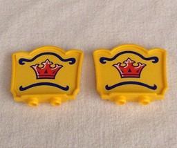 REPLACEMENT Playmobil #4230 Big Top CIRCUS TENT Yellow Crown Sign Piece ... - $9.75
