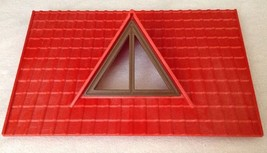 REPLACEMENT Playmobil #4490 Large Animal Farm RED ROOF Piece Part 2005 R... - $9.75