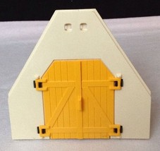 REPLACEMENT Playmobil #4490 Large Animal Farm UPPER YELLOW BARN DOORS Pi... - $9.75