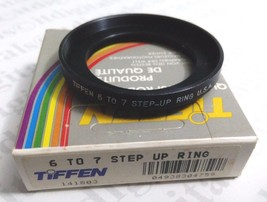 Tiffen Series 6 to 7 Step Up Adapter Stepping Ring SER 6 To Ser 7 USA Ma... - $10.47