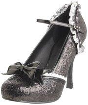 Ellie Shoes Women's 453-Lacey Pump,Black Glitte... - $51.94