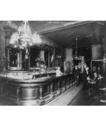 Private Bar Saloon 1915 8x10 Reprint Of Old Photo - $20.20