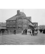 The Casino Atlantic City 1900  Vintage 8x10 Rep... - $20.20
