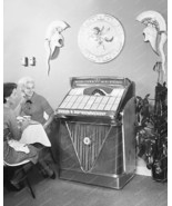 Wurlitzer Jukebox Model 2400 Vintage 8x10 Repri... - $20.20