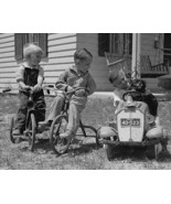 Plymouth Pedal Car 1930 Vintage 8x10 Reprint Of... - $20.20