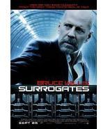 Surrogates 27 x 40 Original Movie Poster 2009 - $12.95