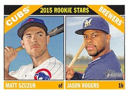 2016 Topps Heritage #164 Matt Szczur RC Rookie Card > Cubs > Jason... - $0.99