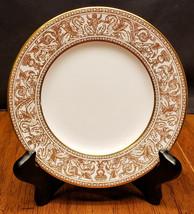 Wedgwood Florentine Gold W4219 Bread Plate Dragons Beautiful - $29.99