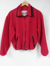 GUC Vtg Women's TUFF HEDEMAN Pink Fleece Jacket Cowgirl Cripple Creek M USA - $64.50