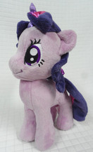 "Twilight SPARKLE My LITTLE Ponies 10"" Plush SEWN Face 2013 Aurora/Hasbro... - $13.95"