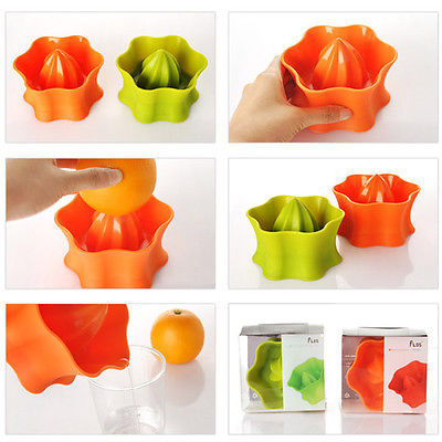 Hand Juicer New Orange Lime Lemon Squeezer silicone squeezer