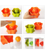 Hand Juicer New Orange Lime Lemon Squeezer silicone squeezer - $10.99
